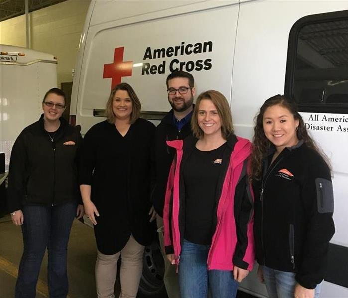 SERVPRO at American Red Cross Facility in Allentown